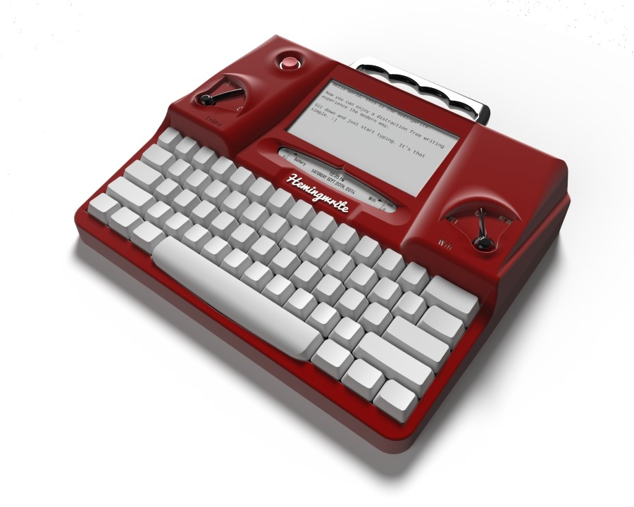Hemingwrite Red