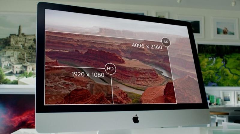 iMac 5K screen